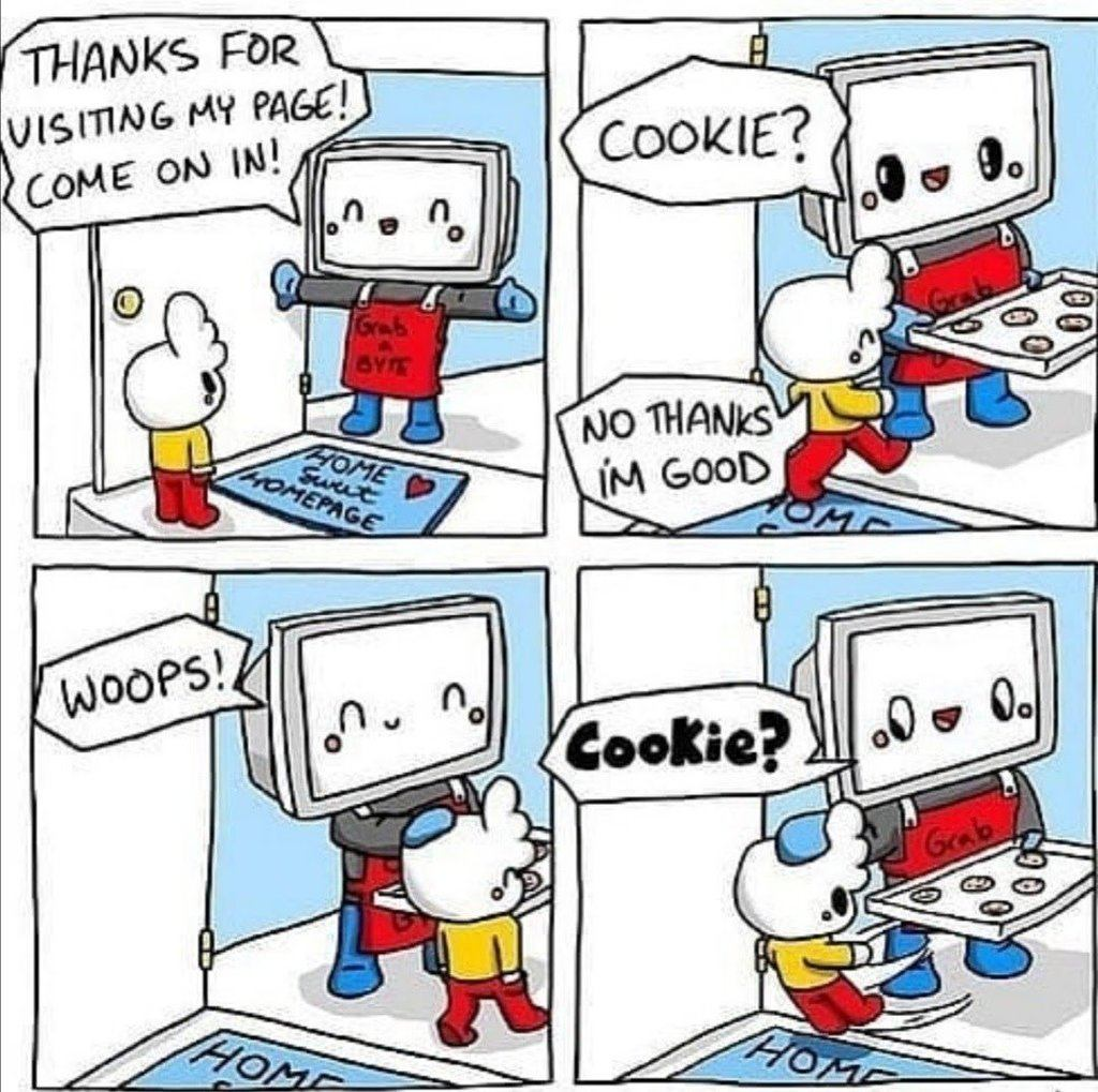 Thanks for wisiting my page and take a cookie!